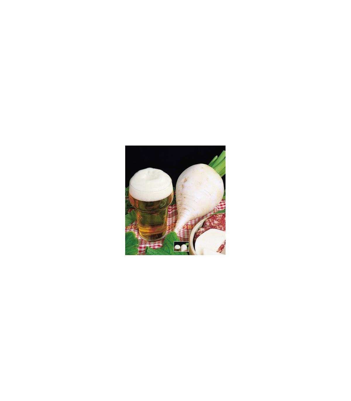 Ředkev polodlouhá bílá - prodej semene ředkve - 60 ks