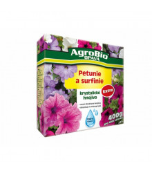Krystalické hnojivo pro petunie a surfinie - Agro - 400 gr