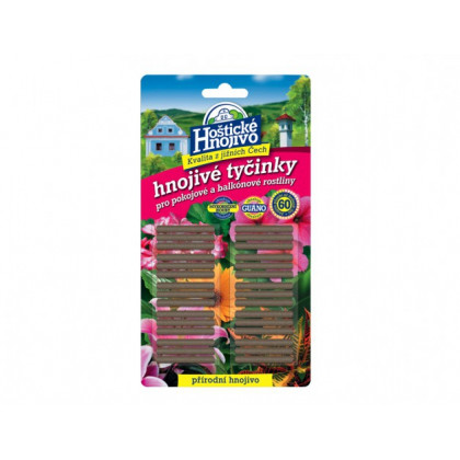 Tyčinkové hnojivo - Hoštické hnojivé tyčinky - 30ks