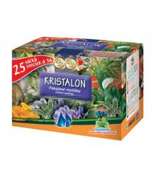 Kristalon pro Vaše pokojové rostliny - praktické balení - 25 sáčků po 5 gr