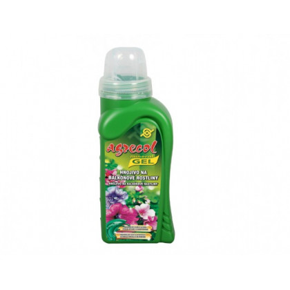 Hnojivo na balkónové rostliny - gel - Agrecol -  500 ml