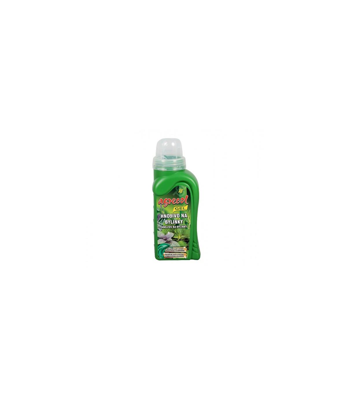 Hnojivo na pro bylinky - gel - Agrecol -  250 ml