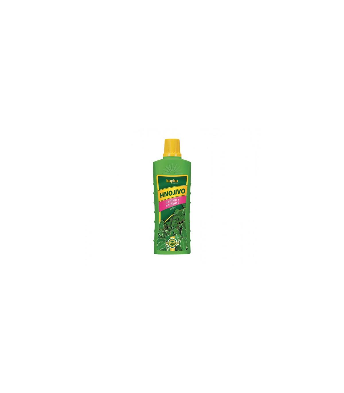 Hnojivo na fíkusy - Kapka - 500 ml