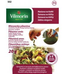 Semena na klíčky - Pikantní směs - 20 g