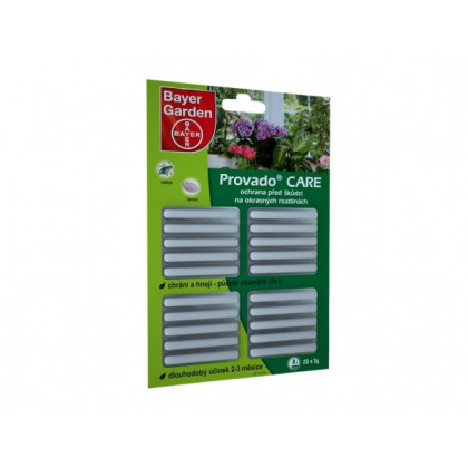 Provado Care - tyčinky proti škůdcům pro okrasné rostliny - 20 x 1,25 g