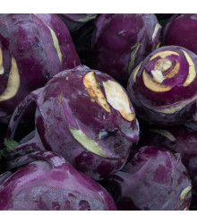 BIO kedluben Azur - Brassica Oleracea L. - bio osivo kedlubny - 70 ks