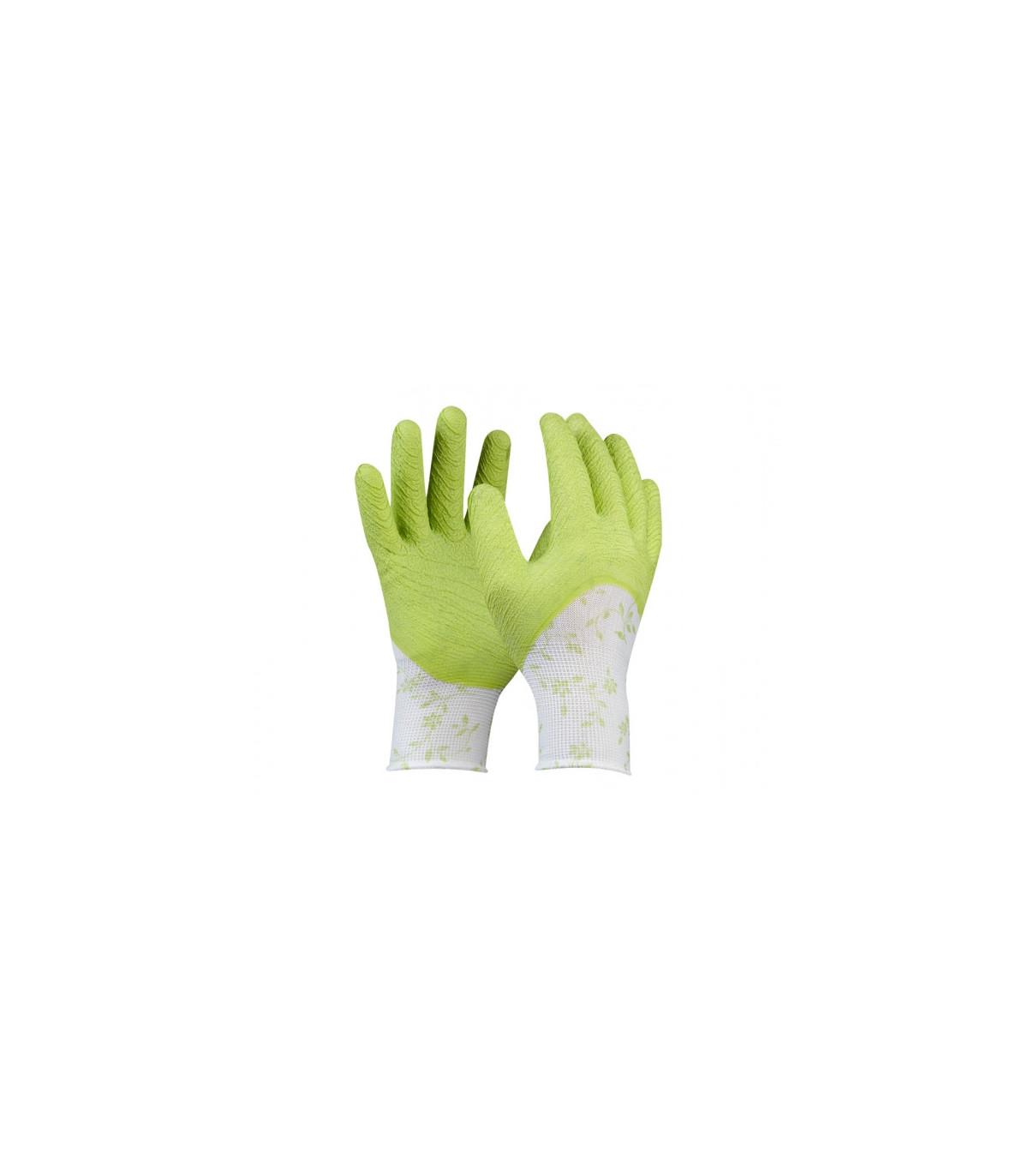 Pracovní rukavice Flower Green - dámské - 1 pár