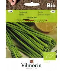BIO Pažitka Medium leaf - Allium schoenoprasum L. - bio semena - 1 g