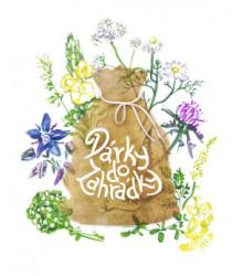 Dárkové balení semen léčivek - dárkový sáček s visačkou zdarma