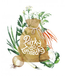 Dárkové balení semen jarní zeleniny - dárkový sáček s visačkou zdarma