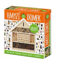 Hmyzí domek velký - domek pro motýly, čmeláky, včely, mušky a brouky - 1 ks