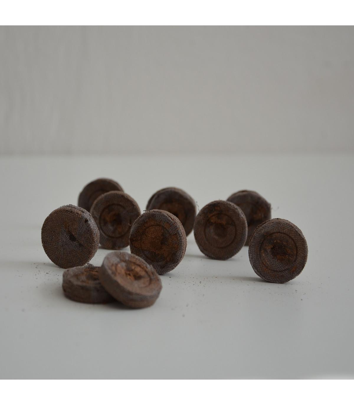 Sadbovací tablety - Jiffy - rašelinové zakořeňovače - vel. 24 mm