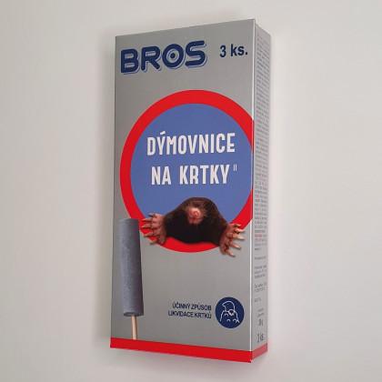 Dýmovnice na krtky - Bros - 3 Ks v balení - 1 ks