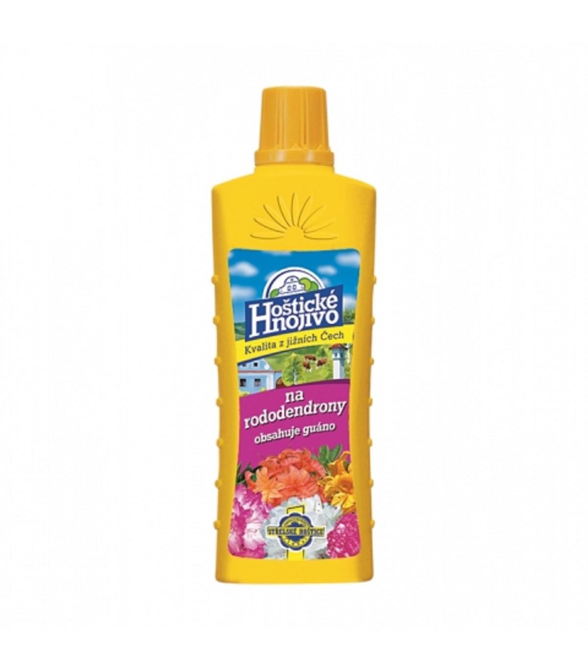 Hoštické hnojivo na rododendrony a azalky s guánem - 500 ml