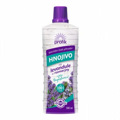 Hnojivo na levandule a rozmarýny – Profík - 500 ml