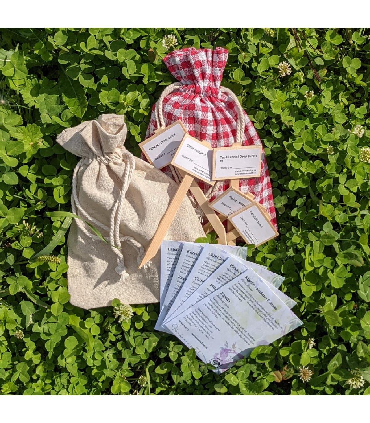 Dárkové balení semen pro tatínky – zdarma dárkové balení
